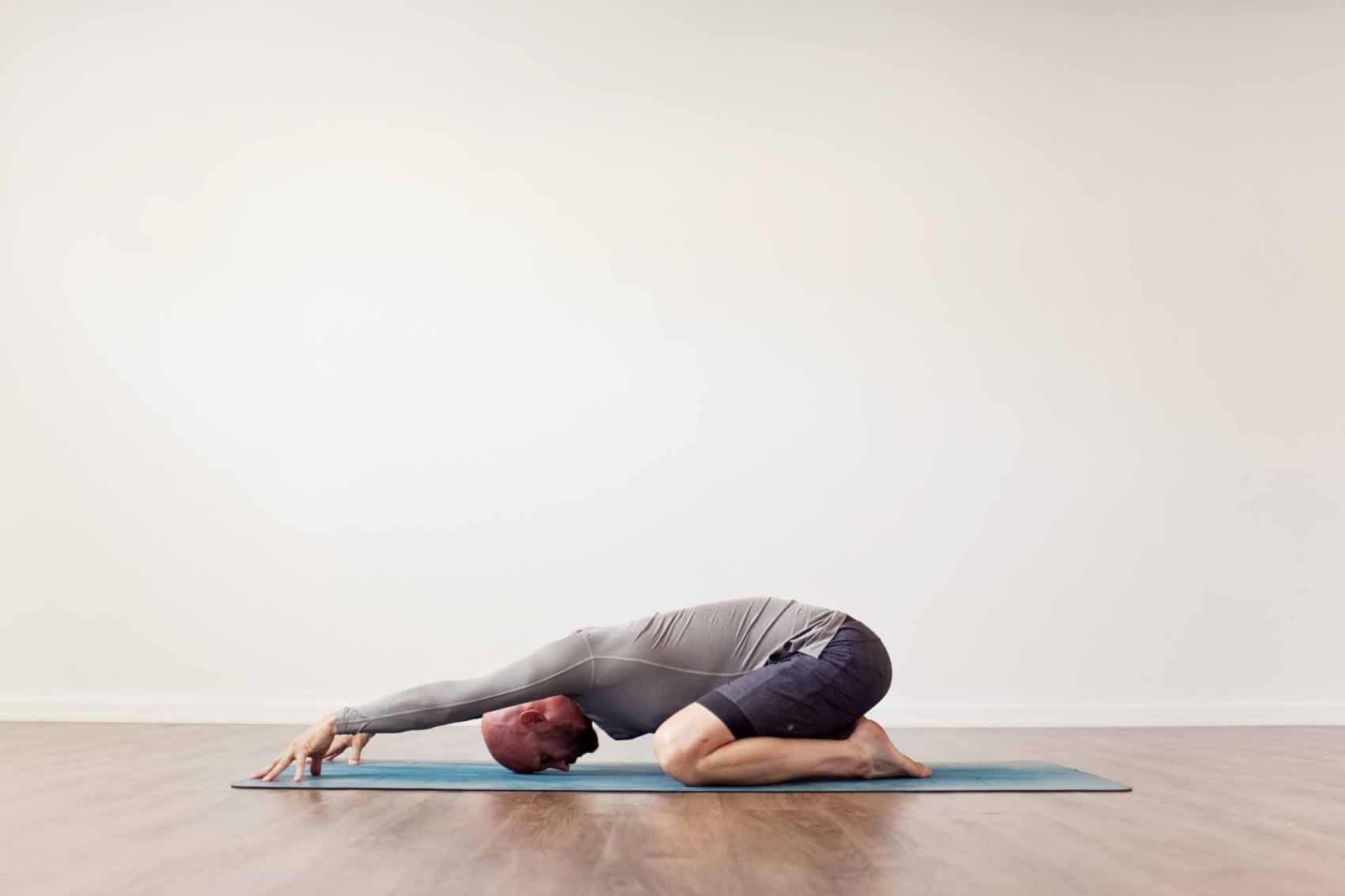 child's pose (balasana) best yoga pose for sciatica relief nerve pain soothe